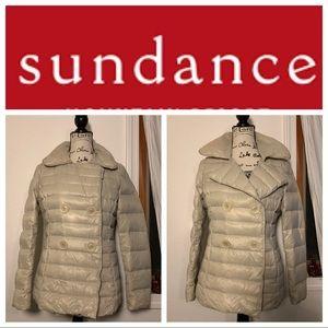 Sundance Puffer Cream Jacket Small